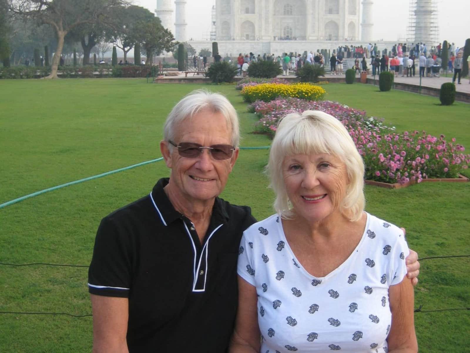Jane & Gordon from Poole, United Kingdom