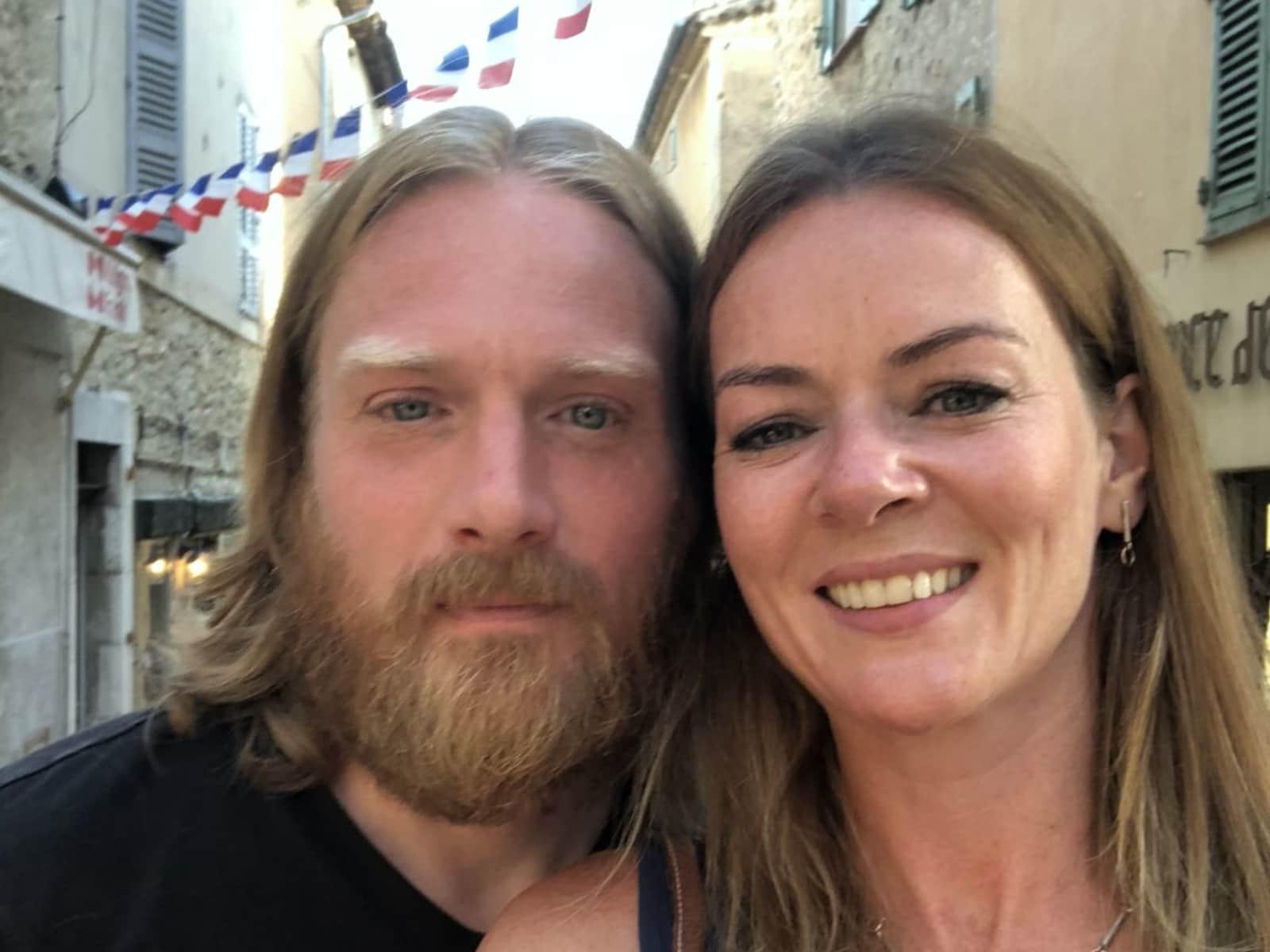 Heather & Tony from Dublin, Ireland