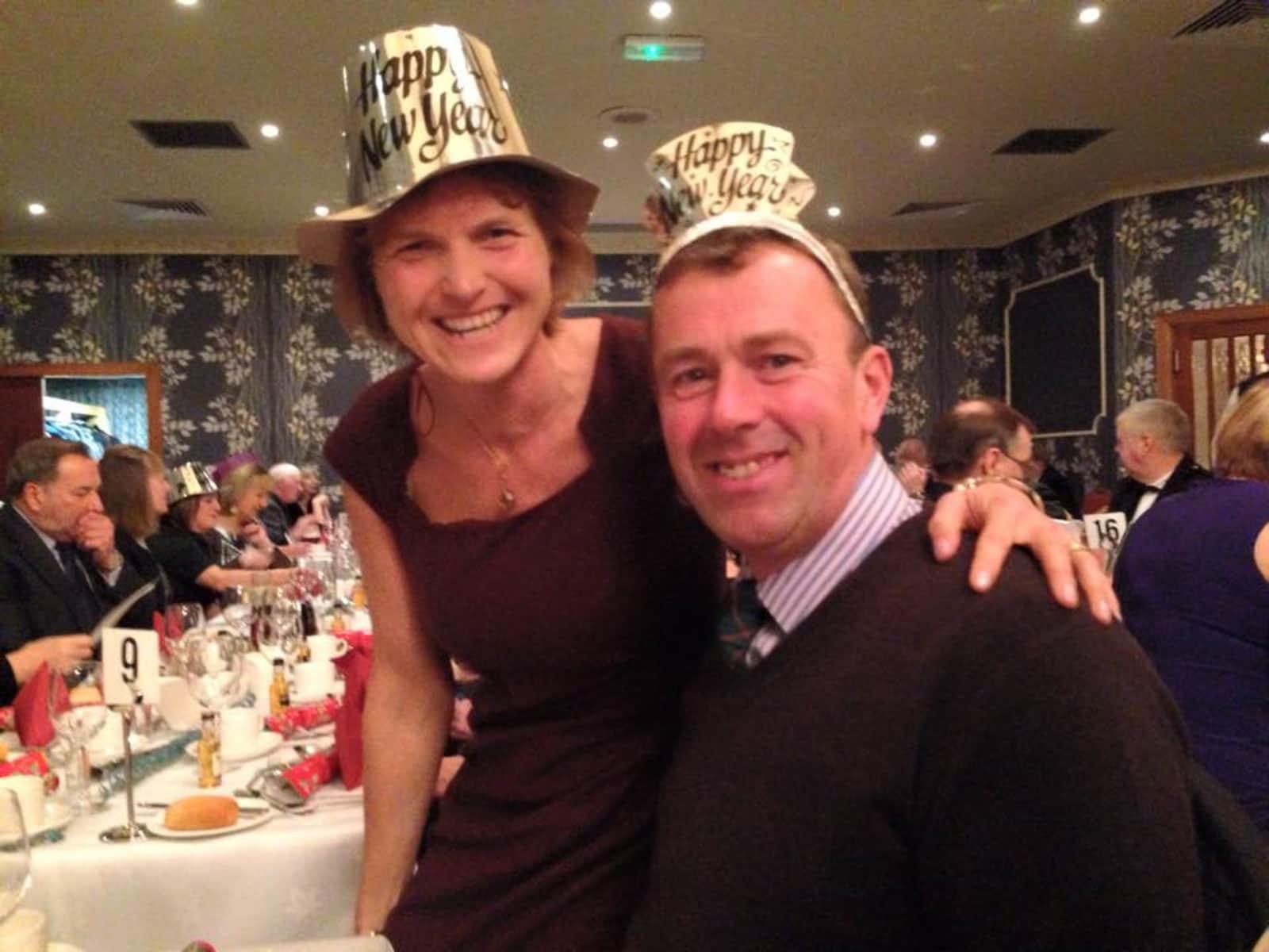 Alison & Stewart from Alyth, United Kingdom