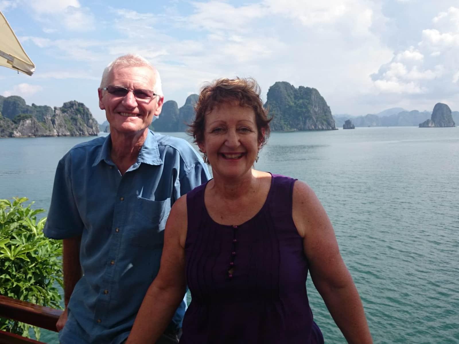 Mary & Trevor from Adelaide, South Australia, Australia