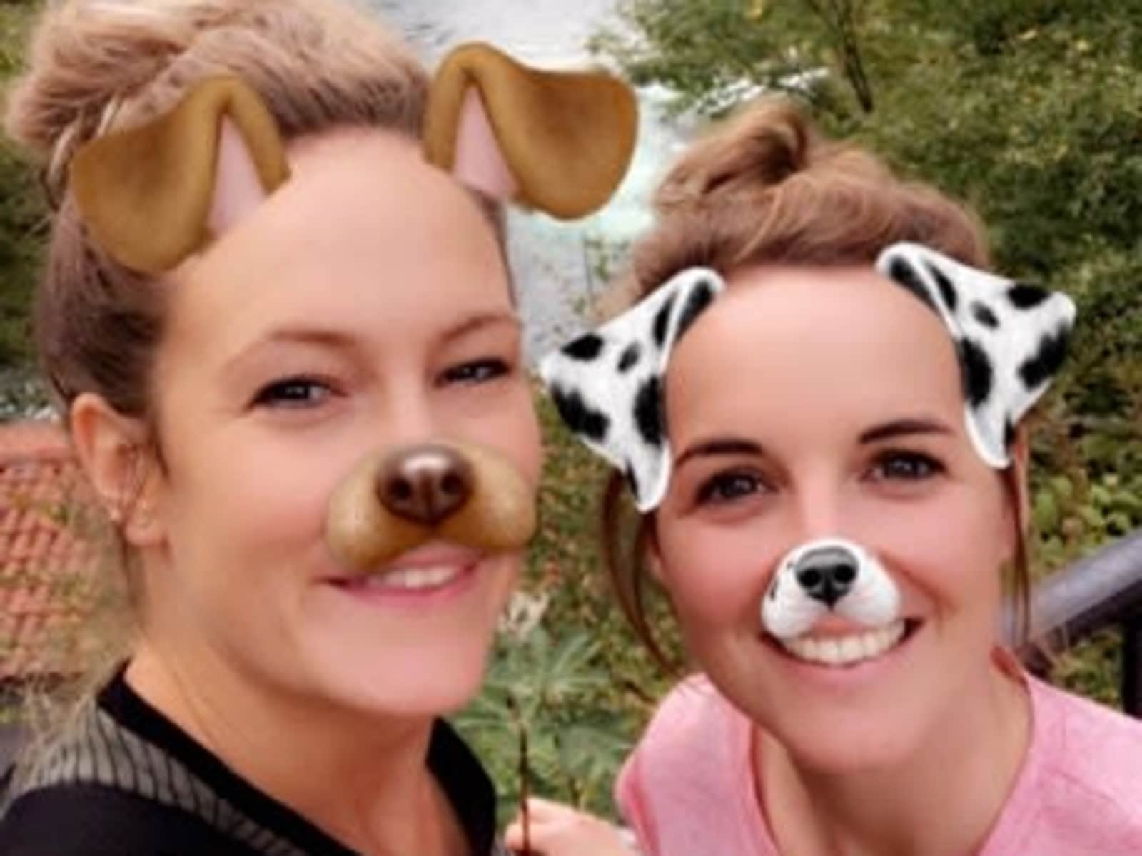 Emily & Kerry from Weymouth, United Kingdom