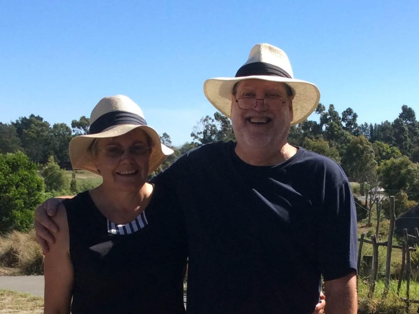 Julie & John from Springston, New Zealand