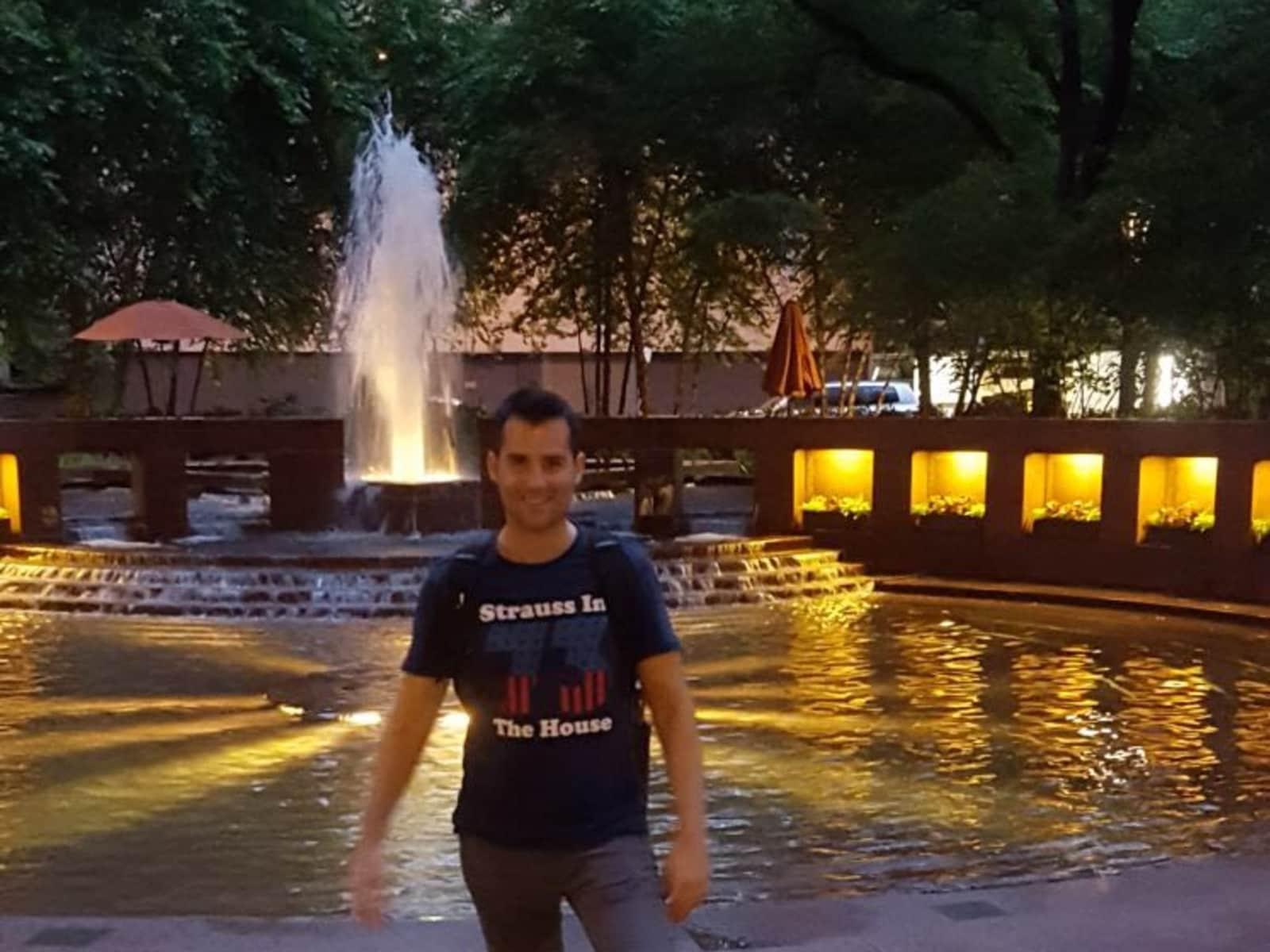 Oscar from Barcelona, Spain