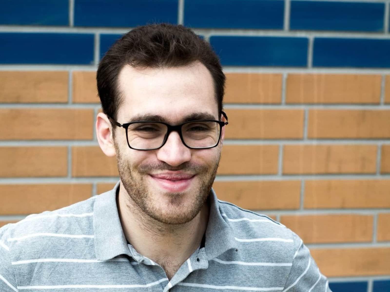 Jacob from Potsdam, Germany