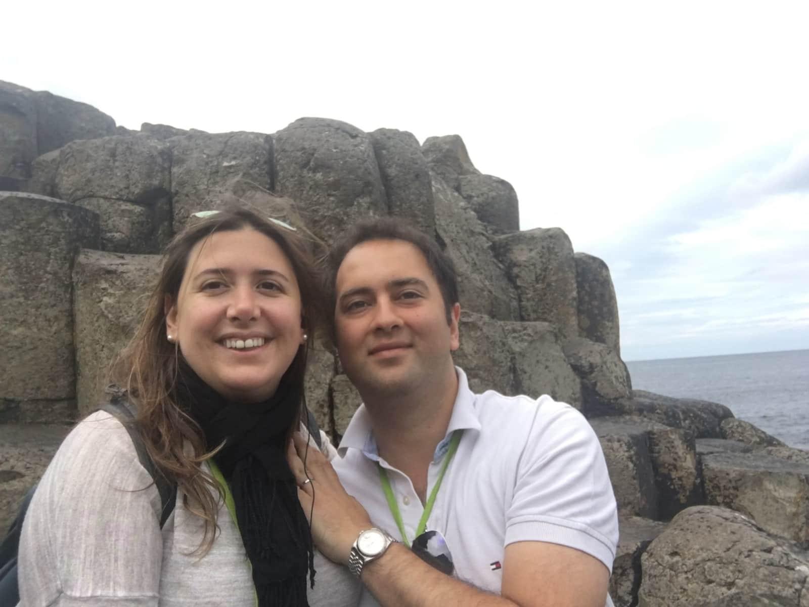 Chiara & Babak from London, United Kingdom