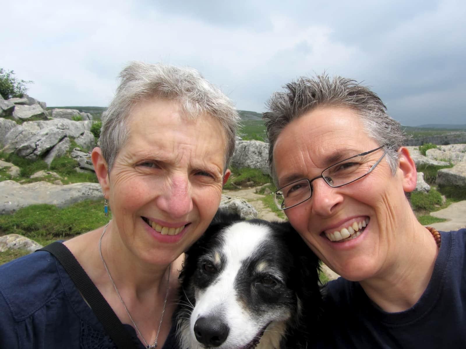 Evelyne & Sue from Sandbach, United Kingdom