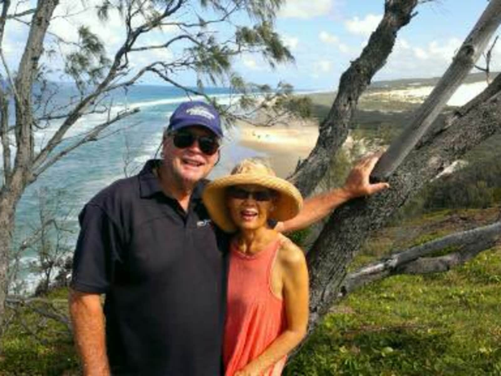 Peter & Flavia from Perth, Western Australia, Australia