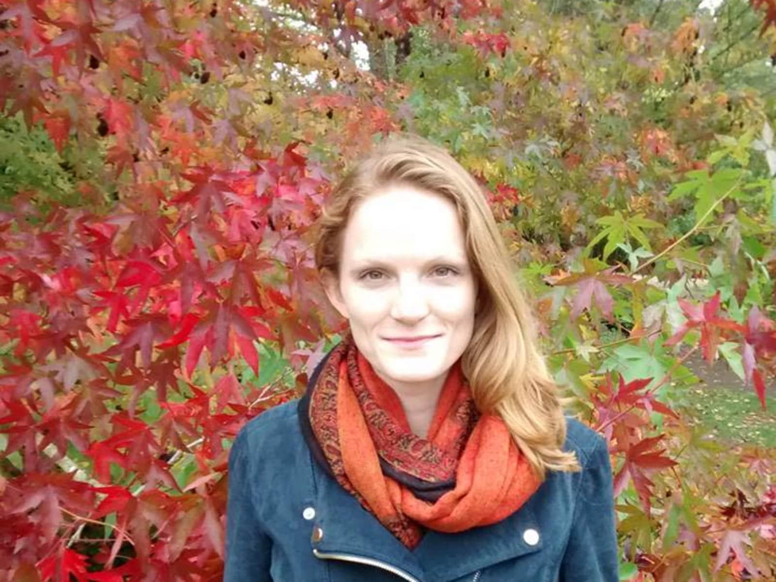 Eva from Cambridge, United Kingdom