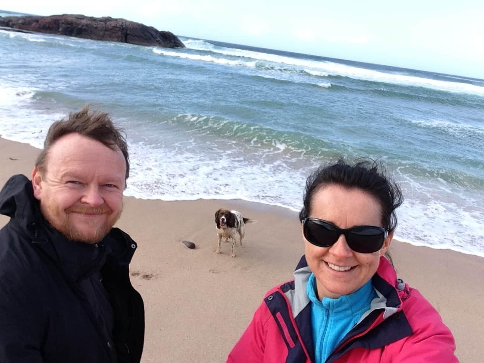 Susan & Chris from Dalgety Bay, United Kingdom