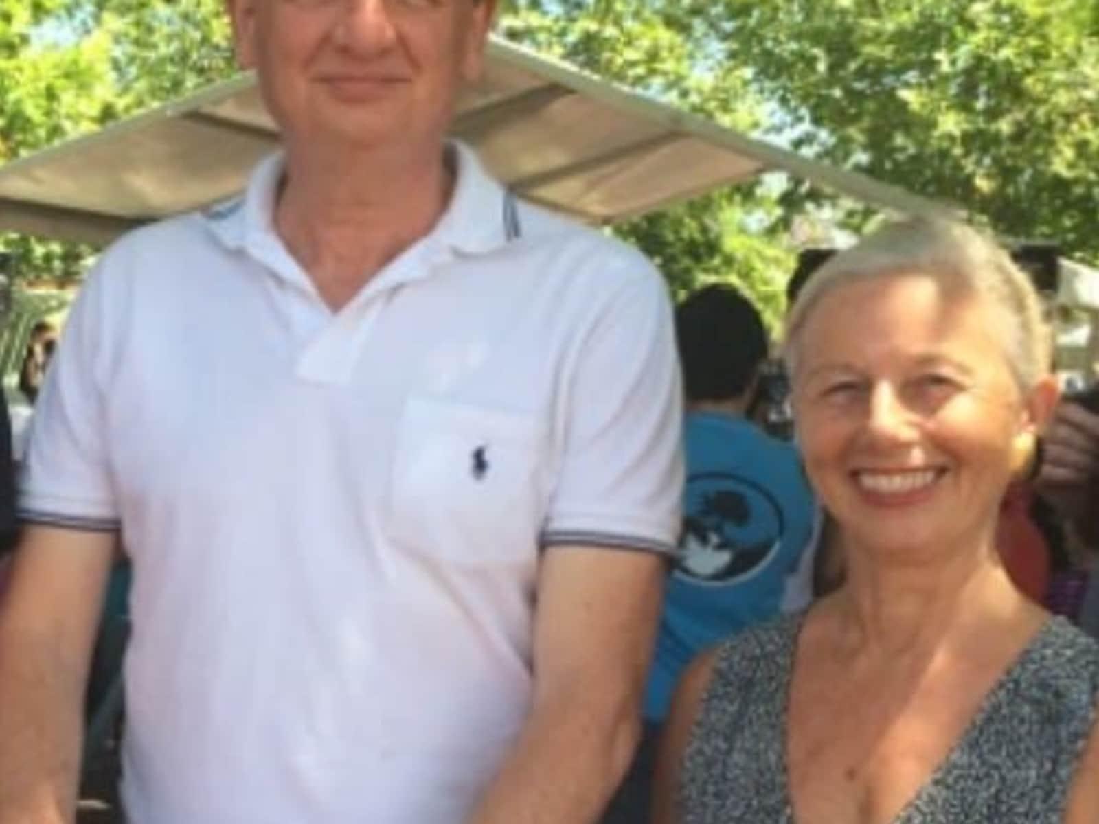 Sue & Tony from Sydney, New South Wales, Australia