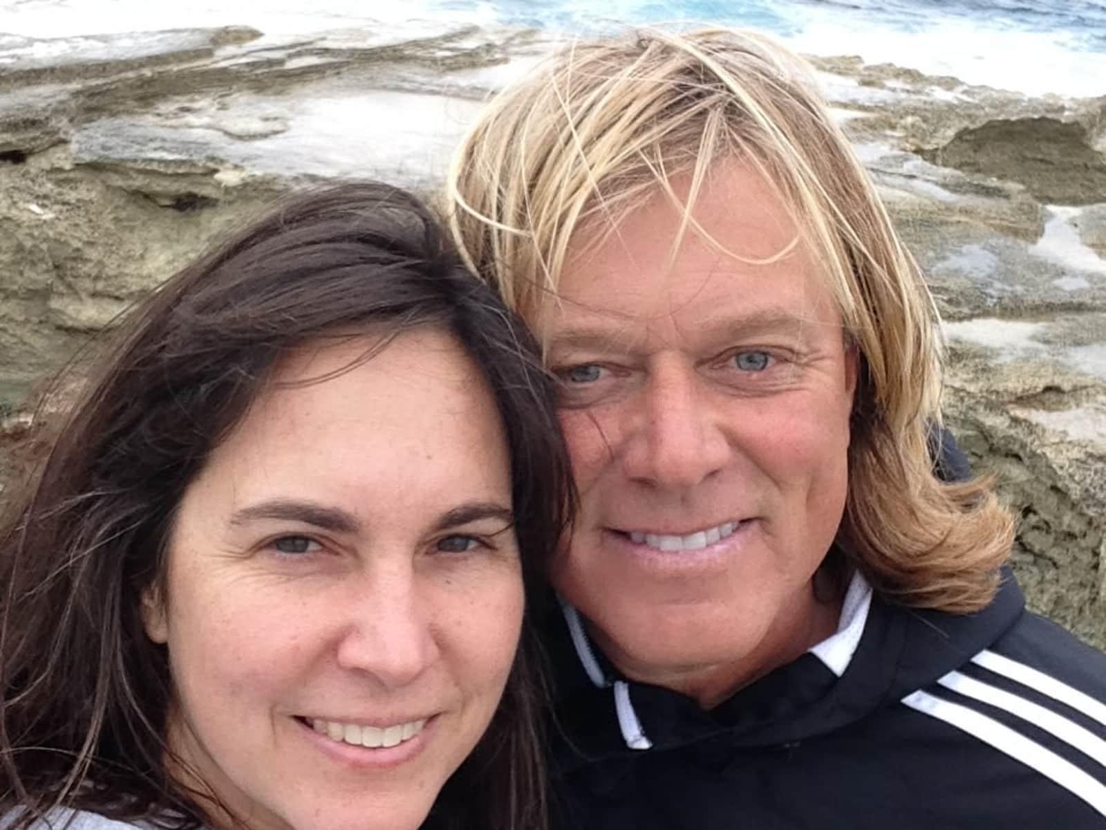 Sarah & Scott from Majadahonda, Spain
