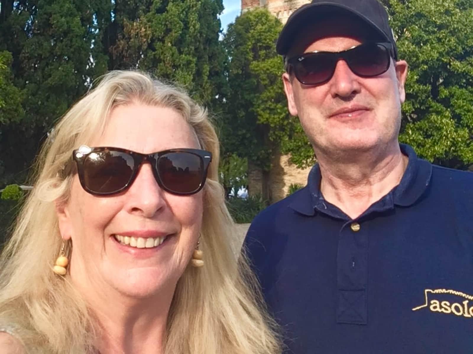 Julie & Gerry from Dublin, Ireland