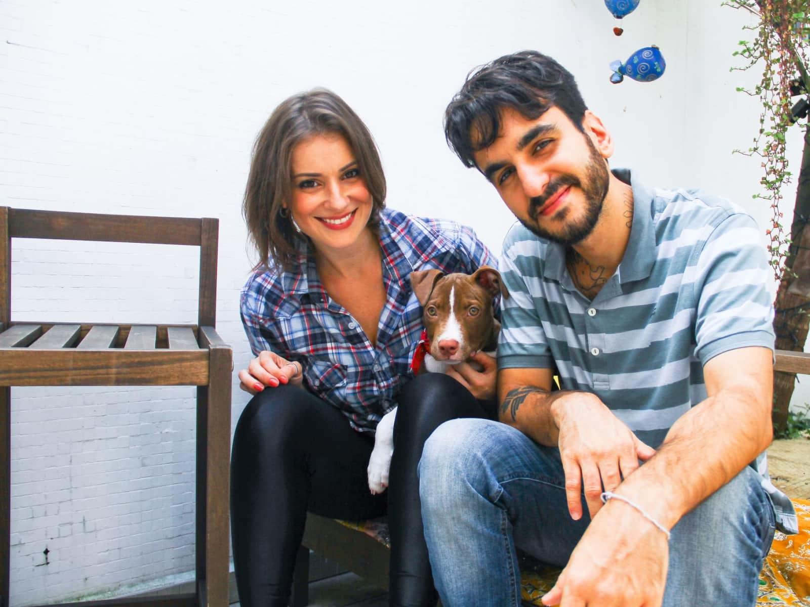 Carla & Rodrigo from London, United Kingdom