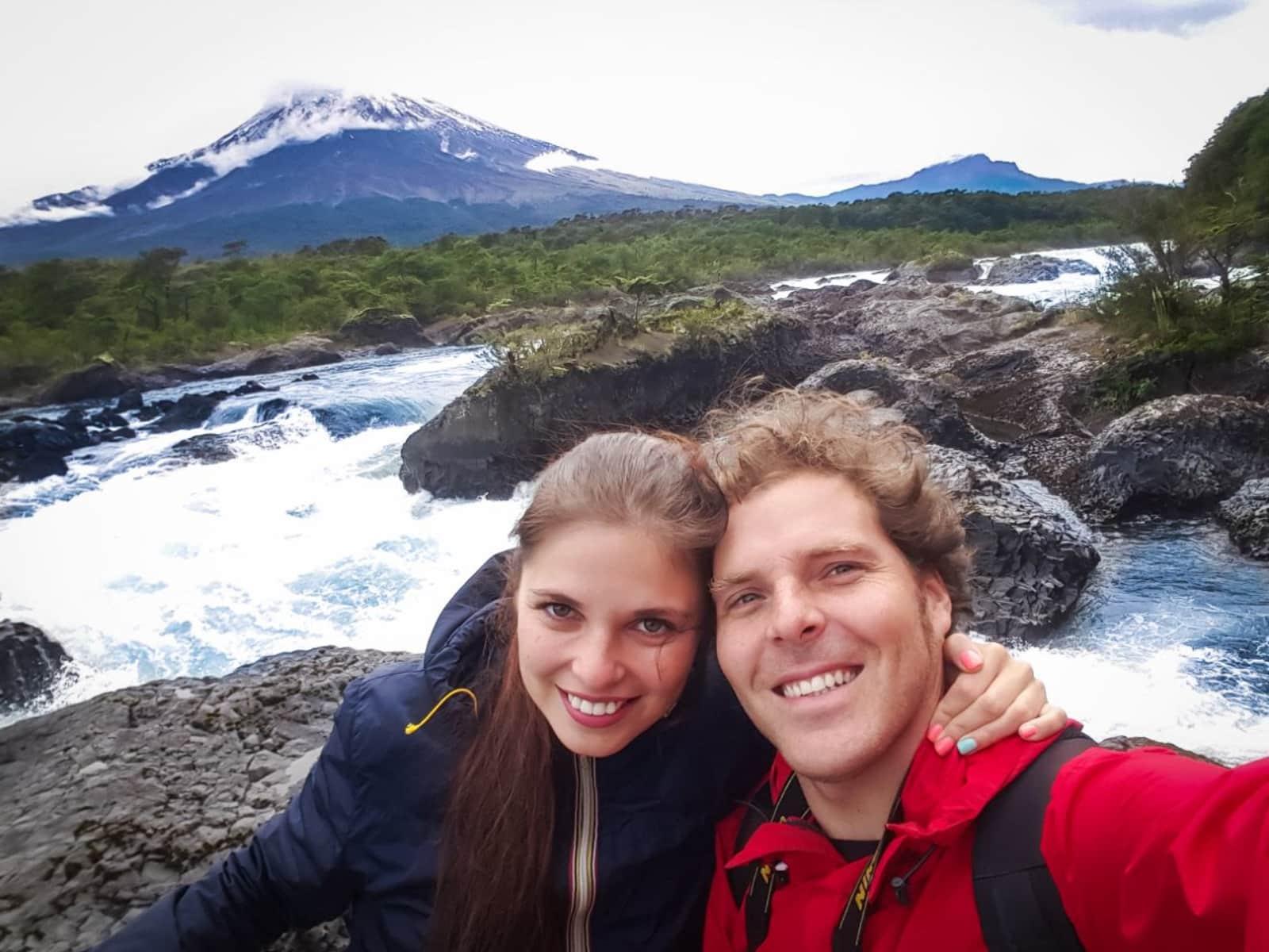 Ignacio & Irina from Sámara, Costa Rica