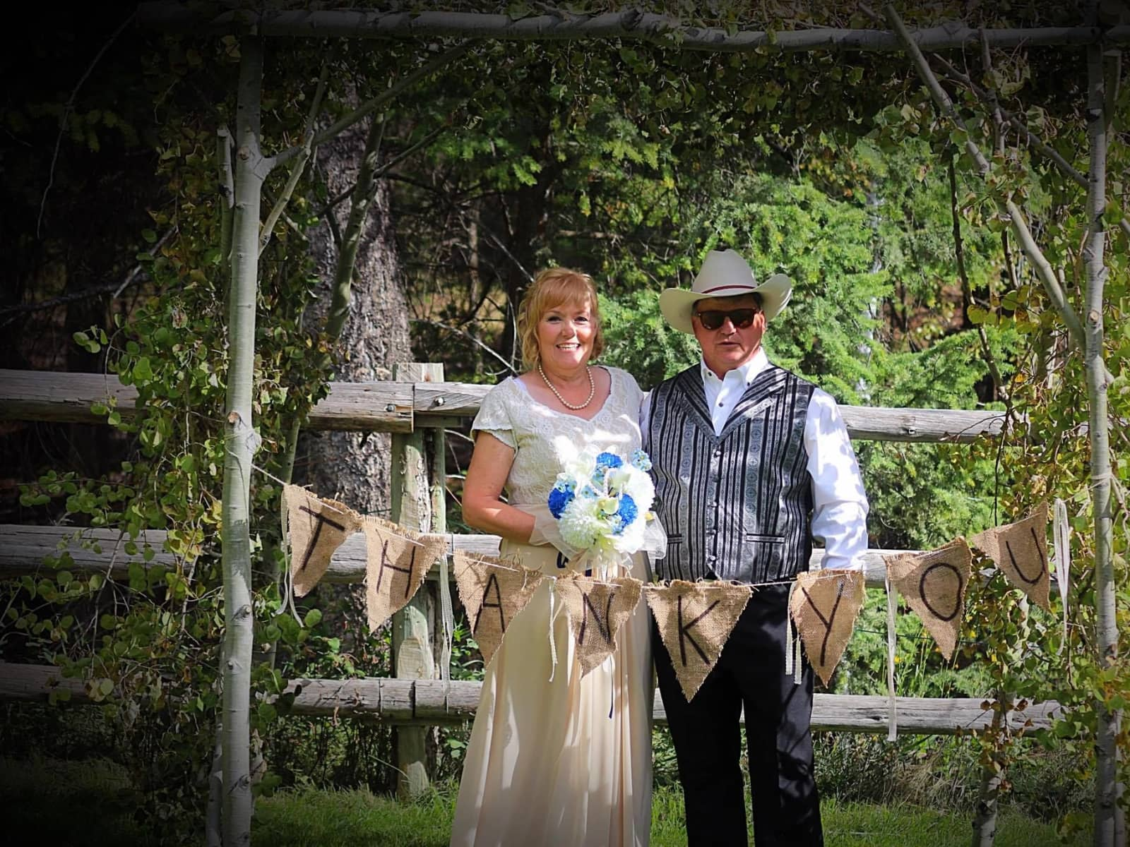 Addie & Terry from Radium Hot Springs, British Columbia, Canada
