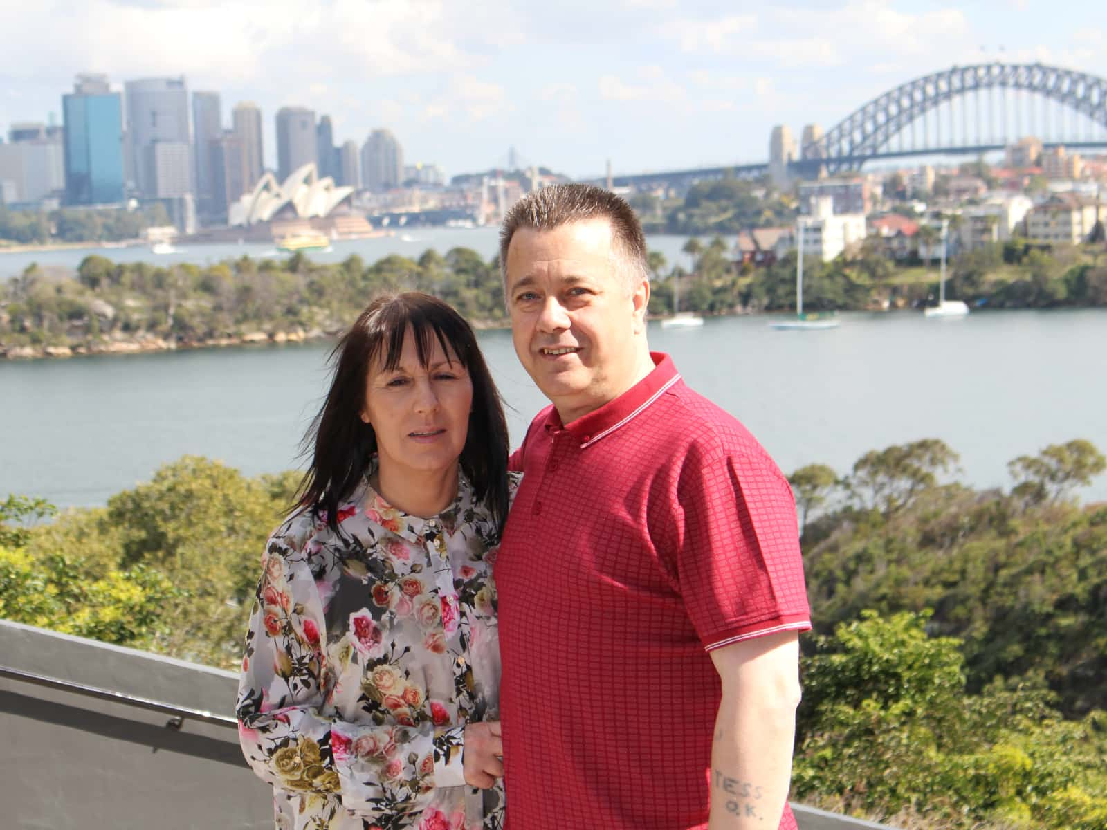 Terence & Gillian from South Shields, United Kingdom