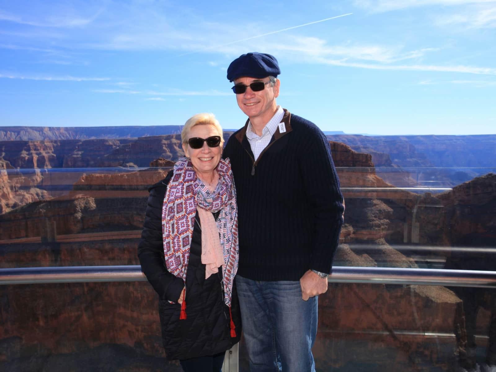 Kathy & Peter from Brisbane, Queensland, Australia