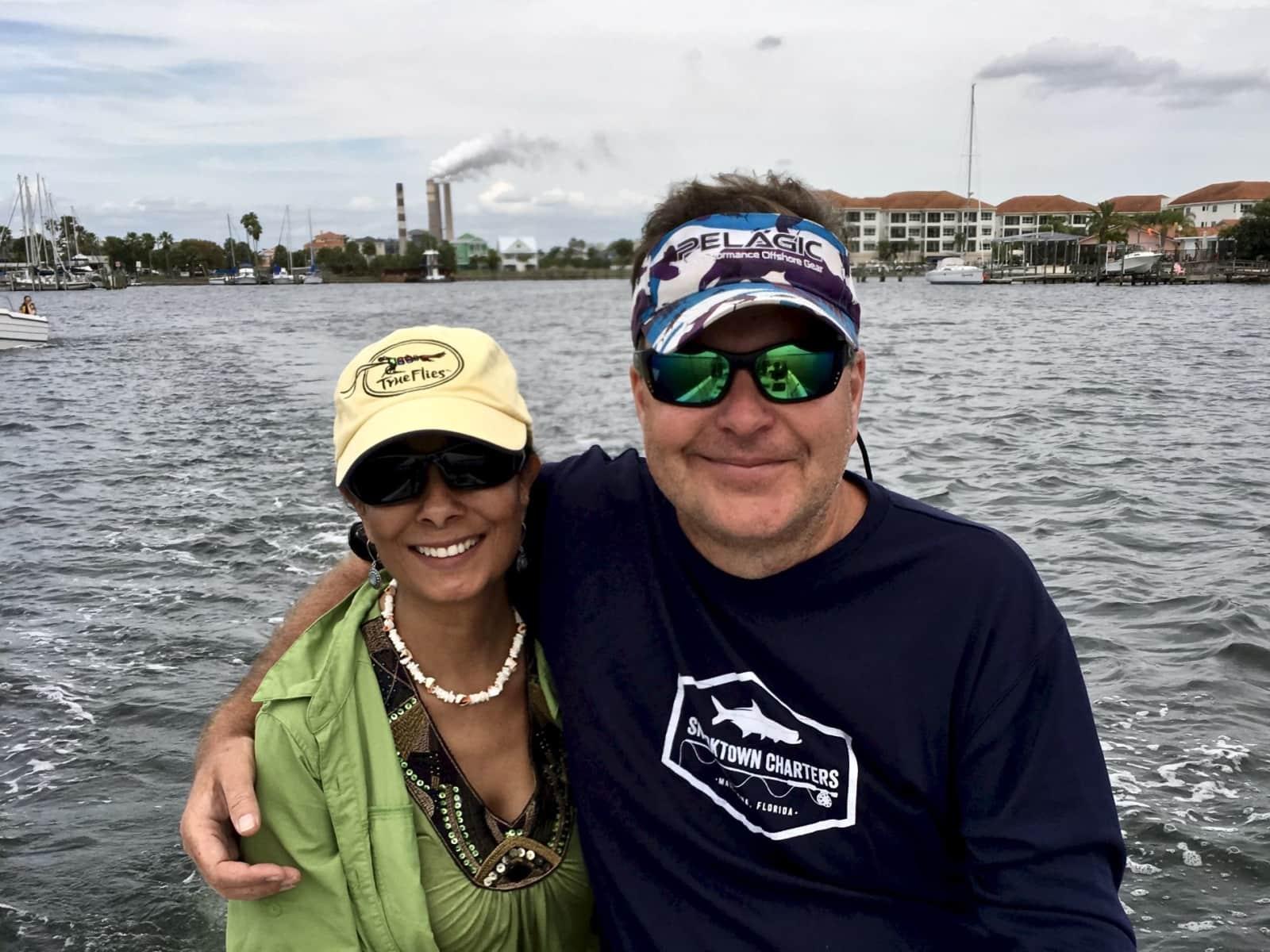 Claudia & Michael from Apollo Beach, Florida, United States