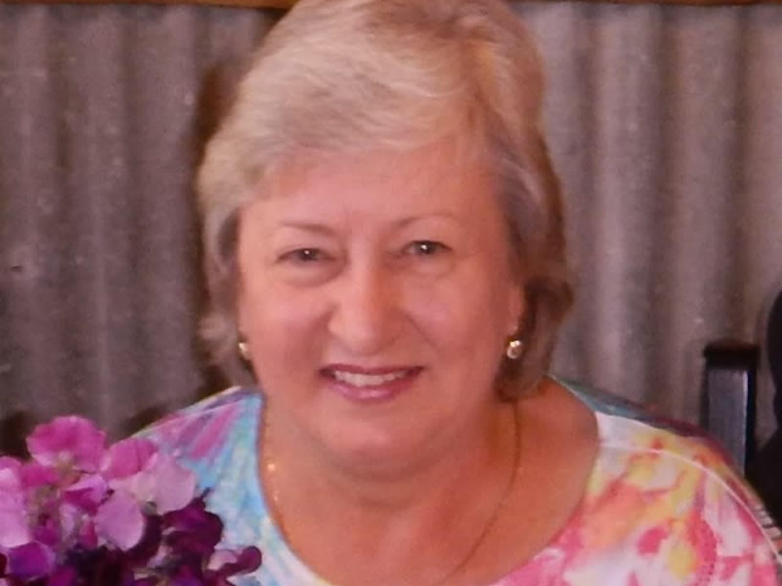 Sue from Wyndham, New South Wales, Australia