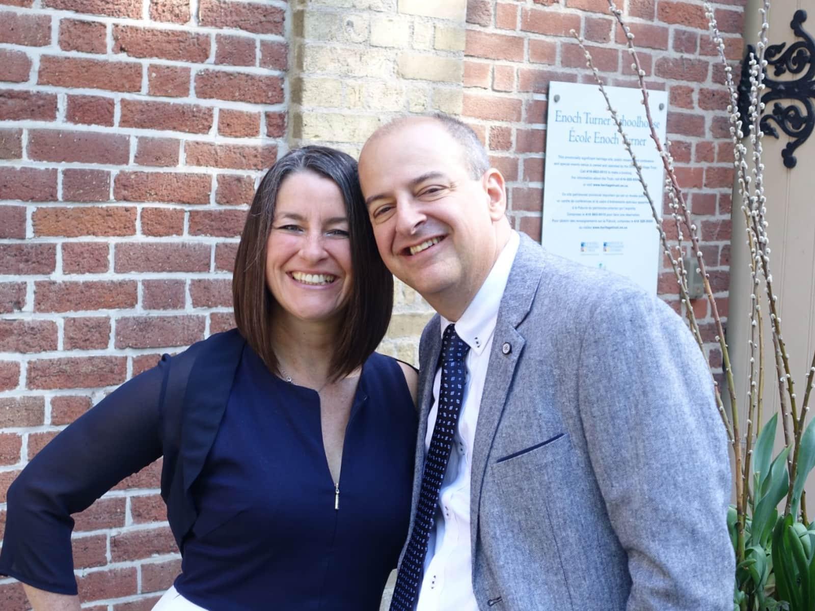Stephane & Sonia from Montréal, Quebec, Canada