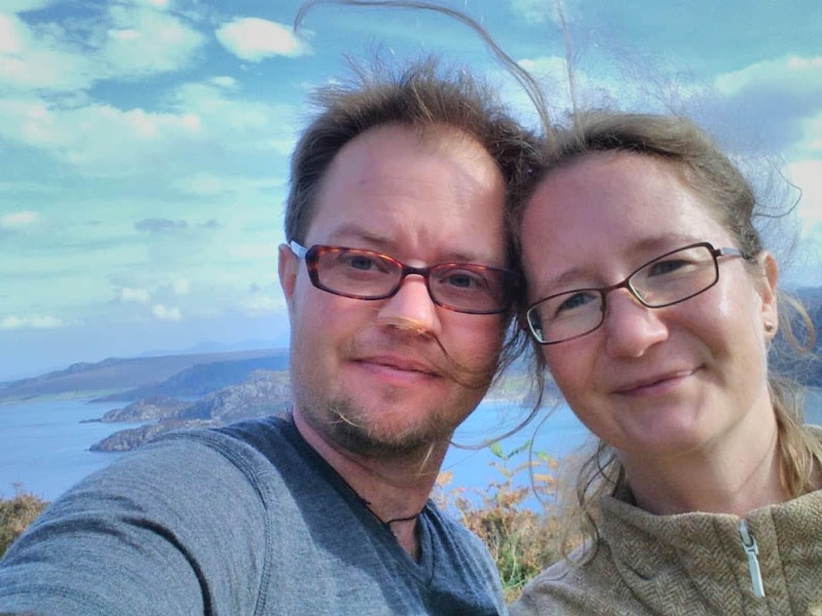 Lukas & Elaine from London, United Kingdom