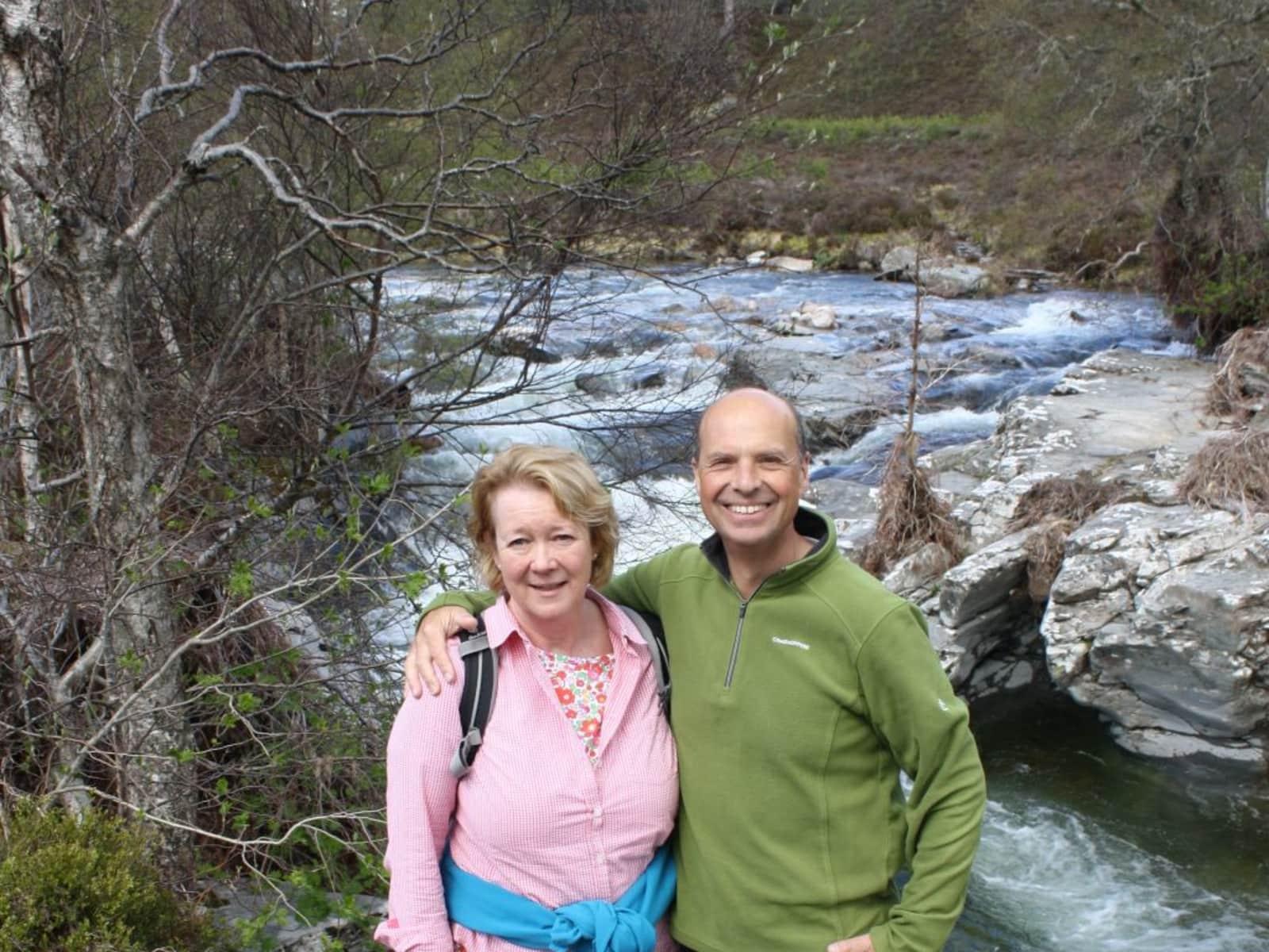 John & Sue from Great Bookham, United Kingdom