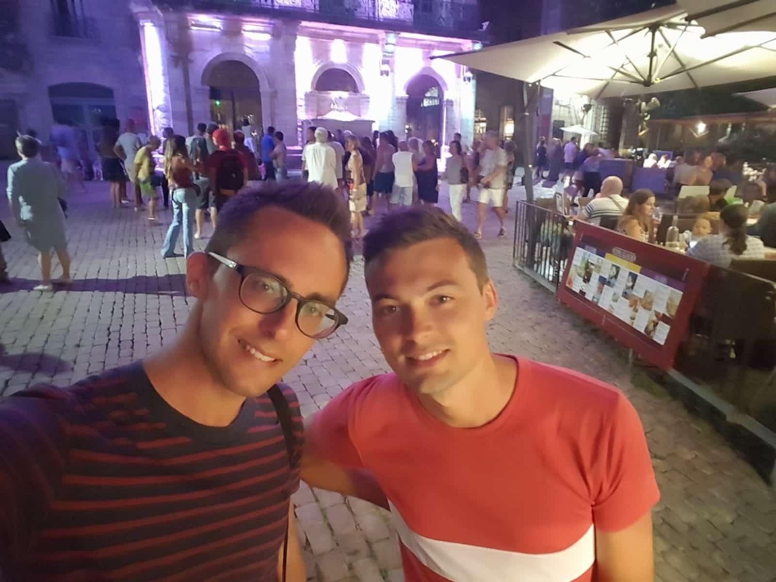 Dimitri & Gilles from Liège, Belgium
