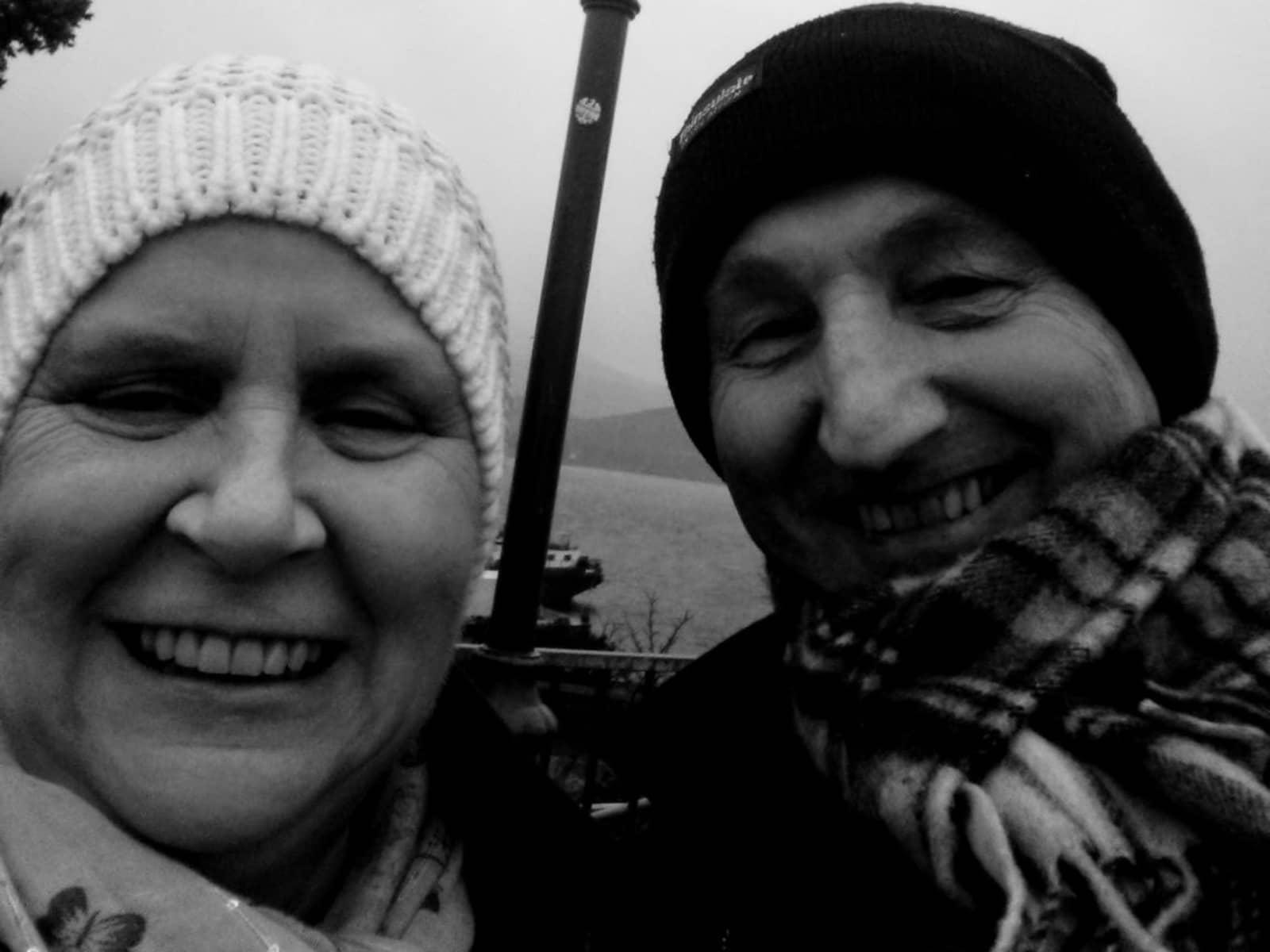 Chris & Irene from Edinburgh, United Kingdom