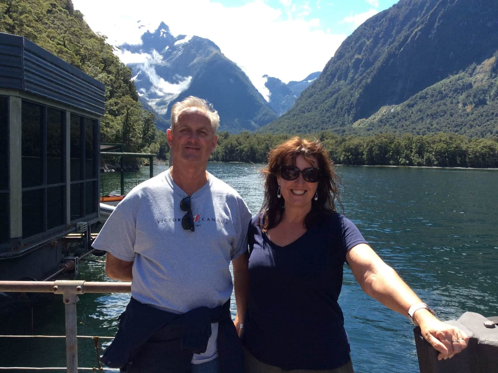Lesley & Dave from Perth, Western Australia, Australia