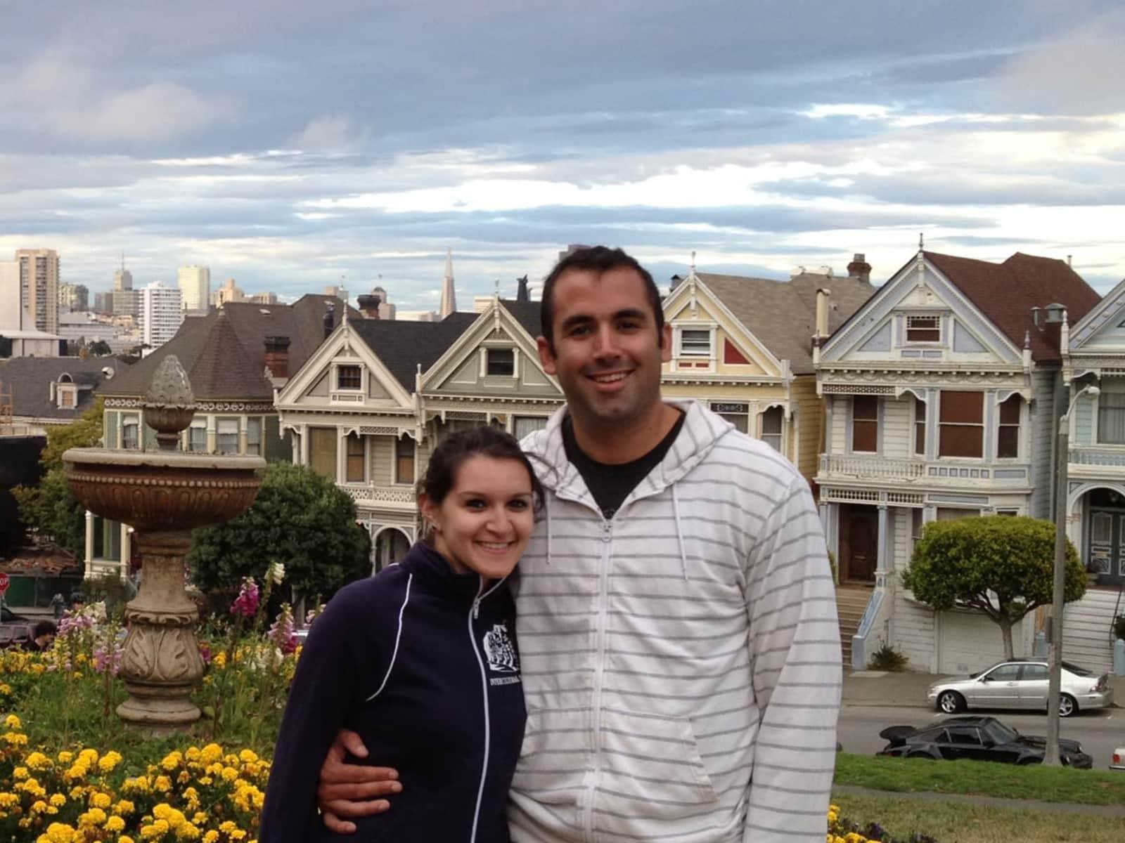 Asha & Nicholas from San Diego, California, United States
