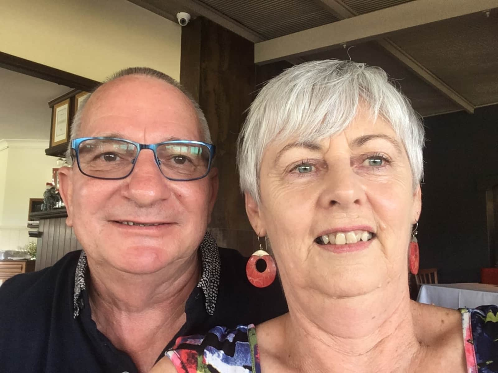 Judith & Grant from Mountain Creek, Queensland, Australia