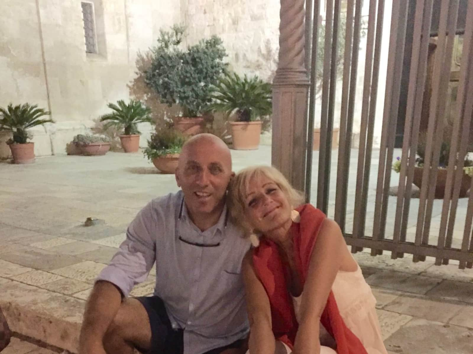 Franco mario & Giovanna from Siena, Italy