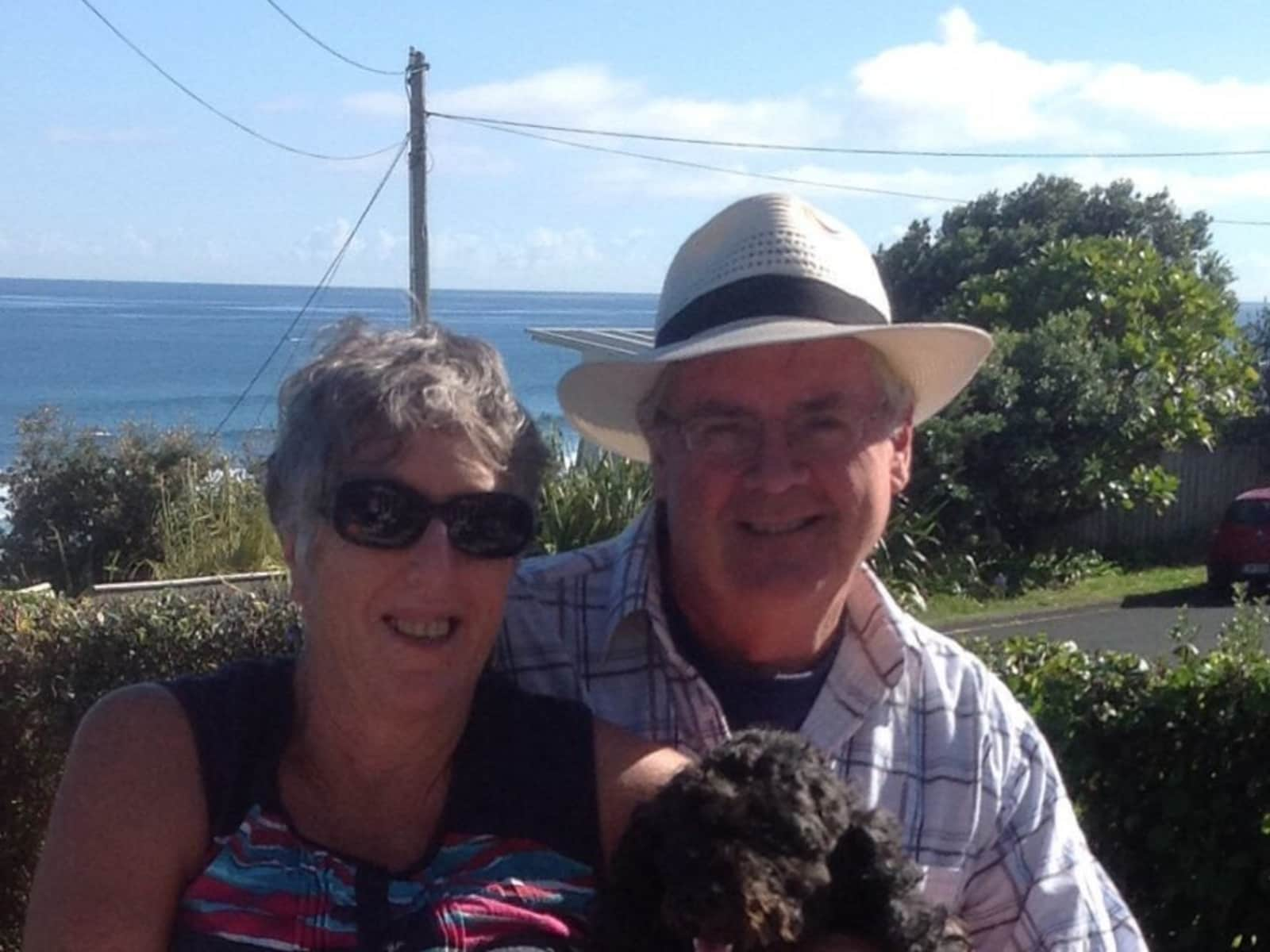 Shirley & William  from Eltham, New Zealand