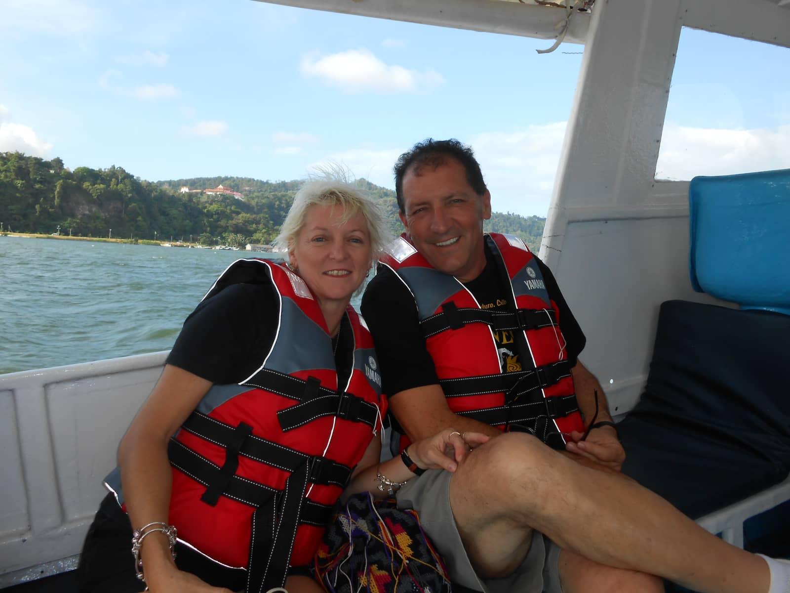 Sharyn & Terry from Deception Bay, Queensland, Australia