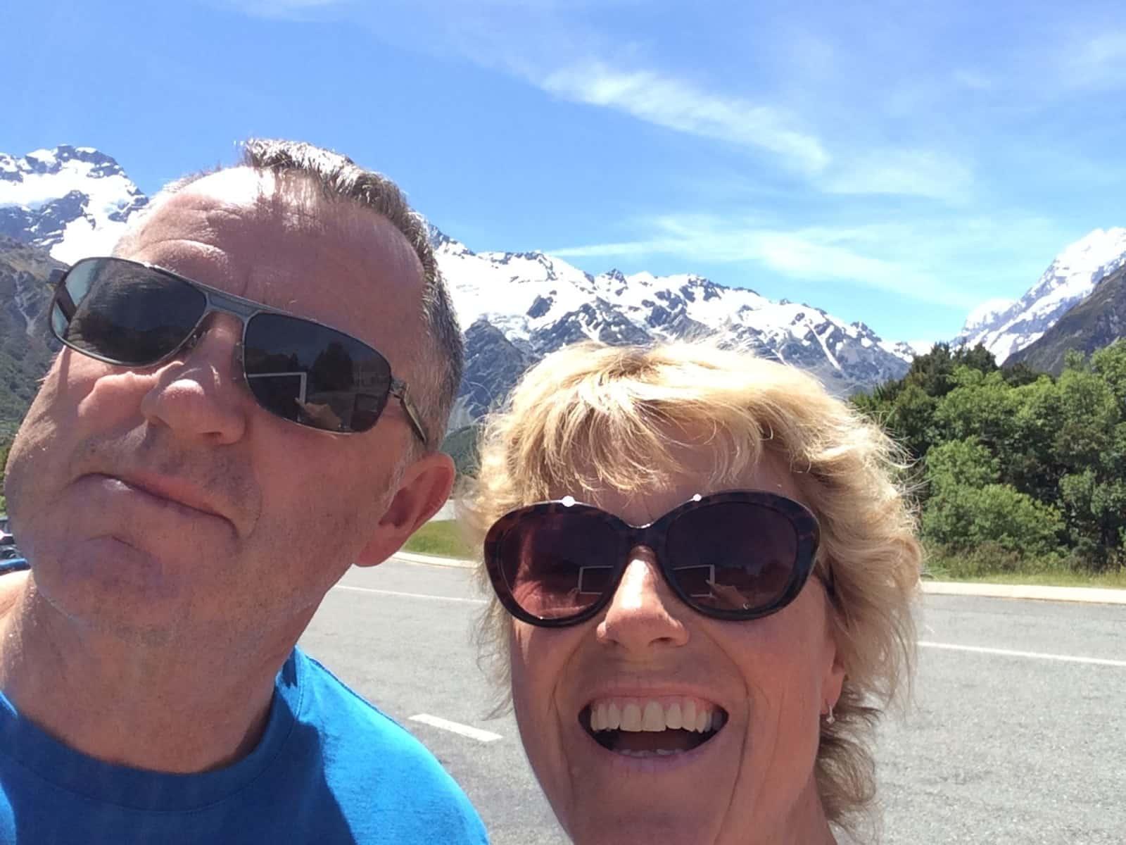 Kate & Paul from Wellington, New Zealand