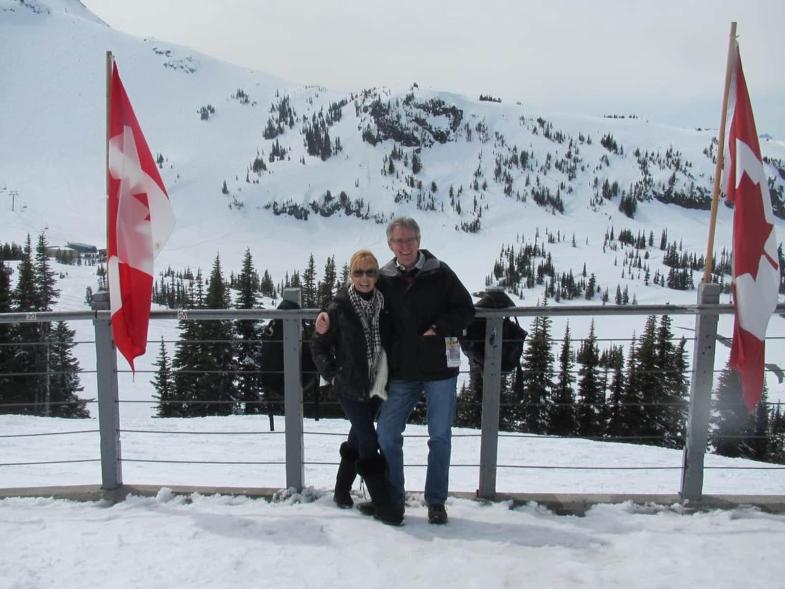 Angela & John from London, United Kingdom