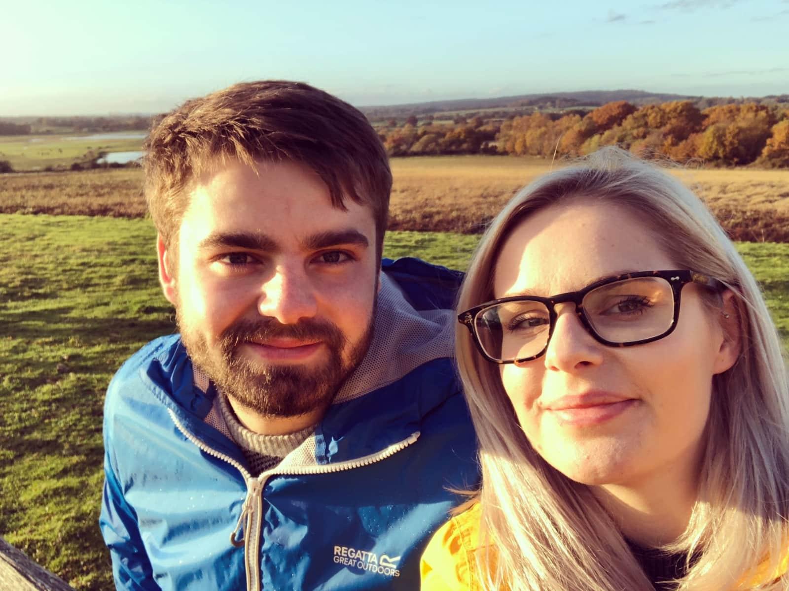 Hannah & Isaac from Brighton, United Kingdom