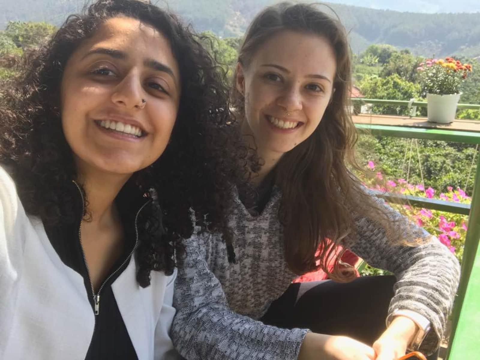 Demelza & Zainab from London, United Kingdom