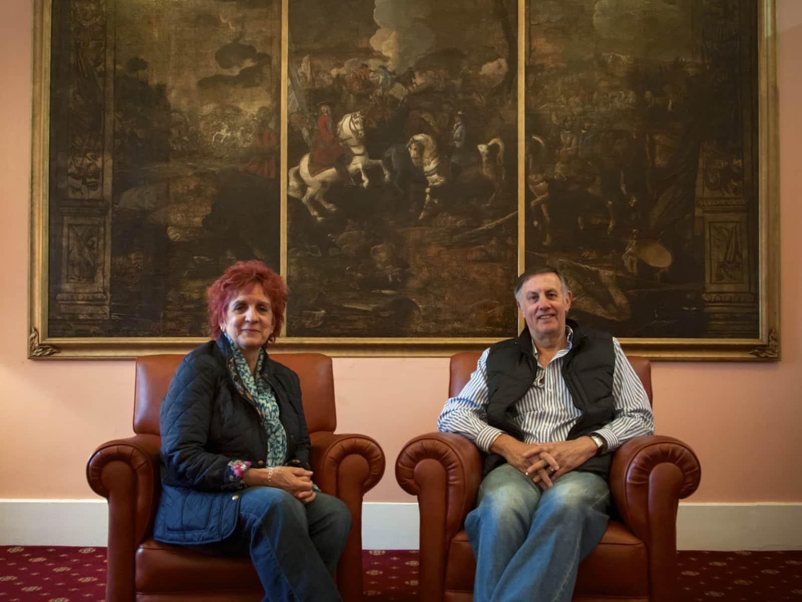 Jan & John from England, United Kingdom