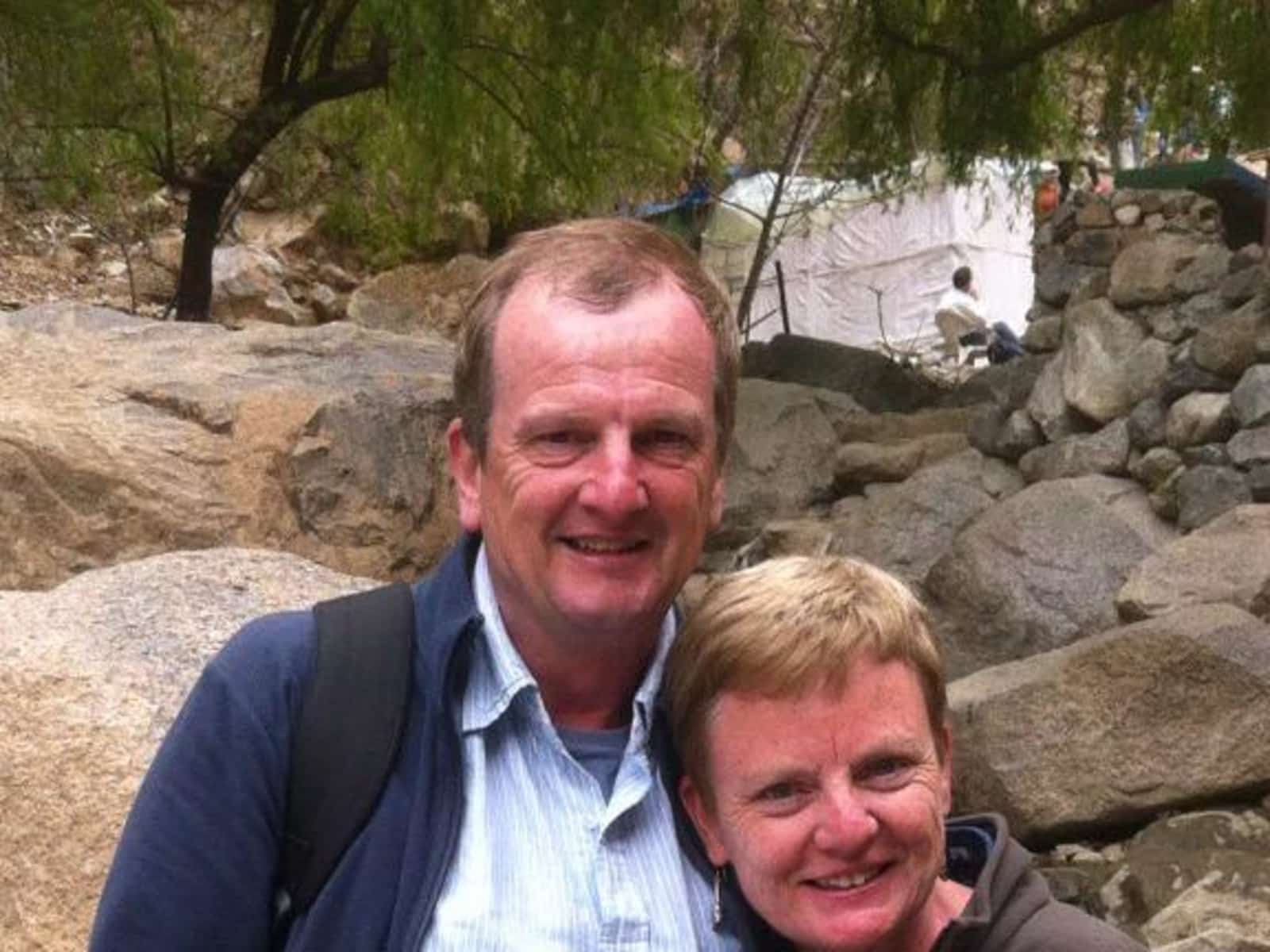 Hugh & Rosemary from Melbourne, Victoria, Australia