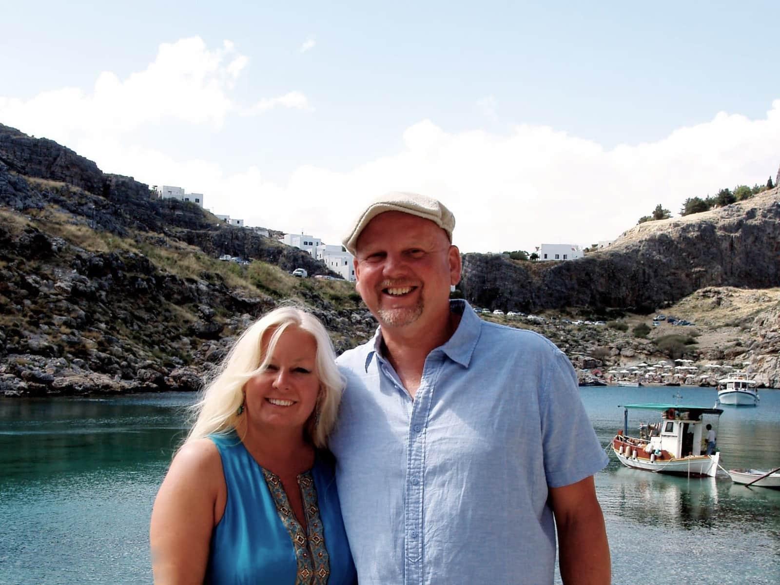 Jeanette & James from Cheltenham, United Kingdom
