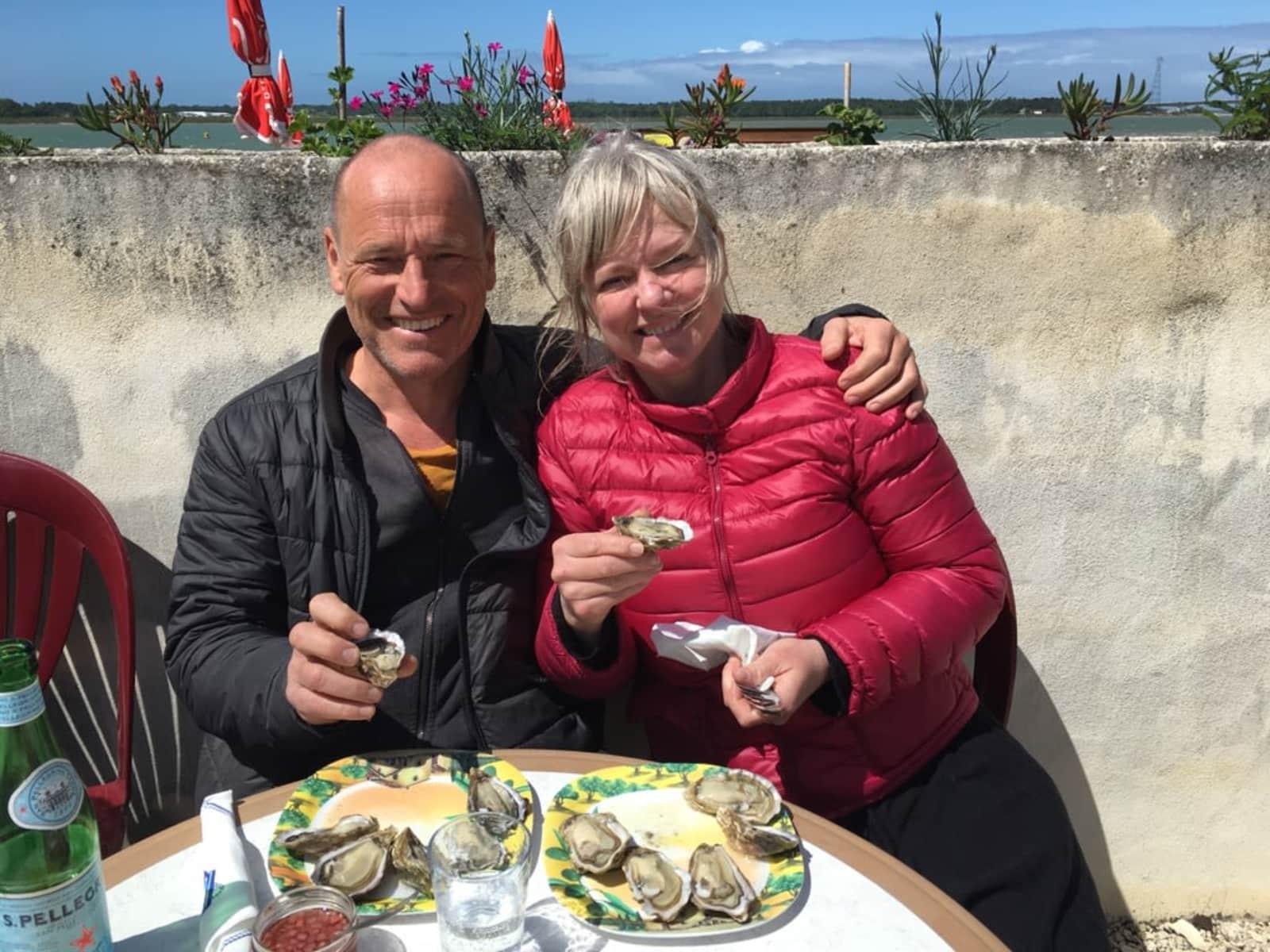 Erik & Helena from Stockholm, Sweden