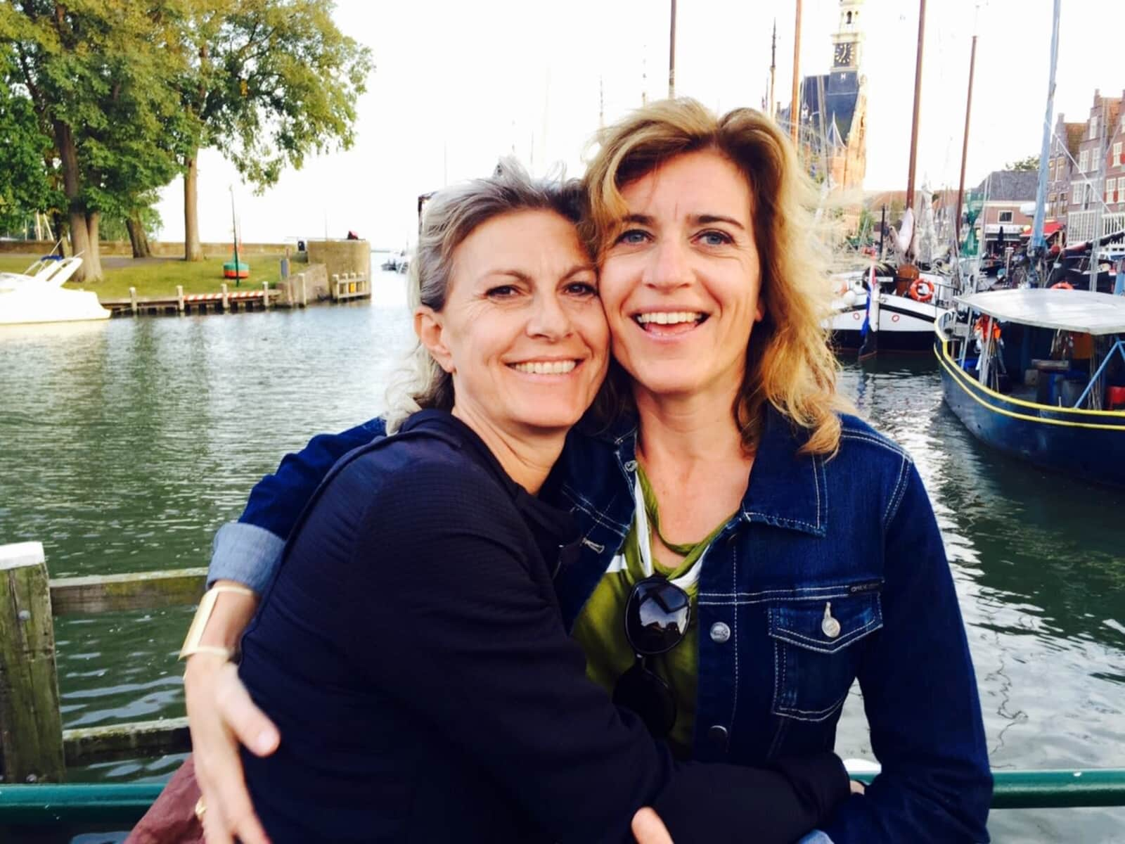 Femke & Eva from Amsterdam, Netherlands