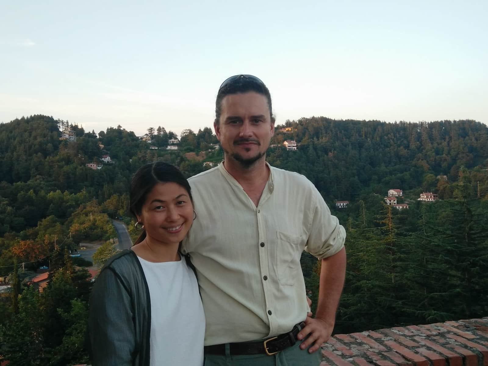 Weiwei & Paolo from Fosdinovo, Italy