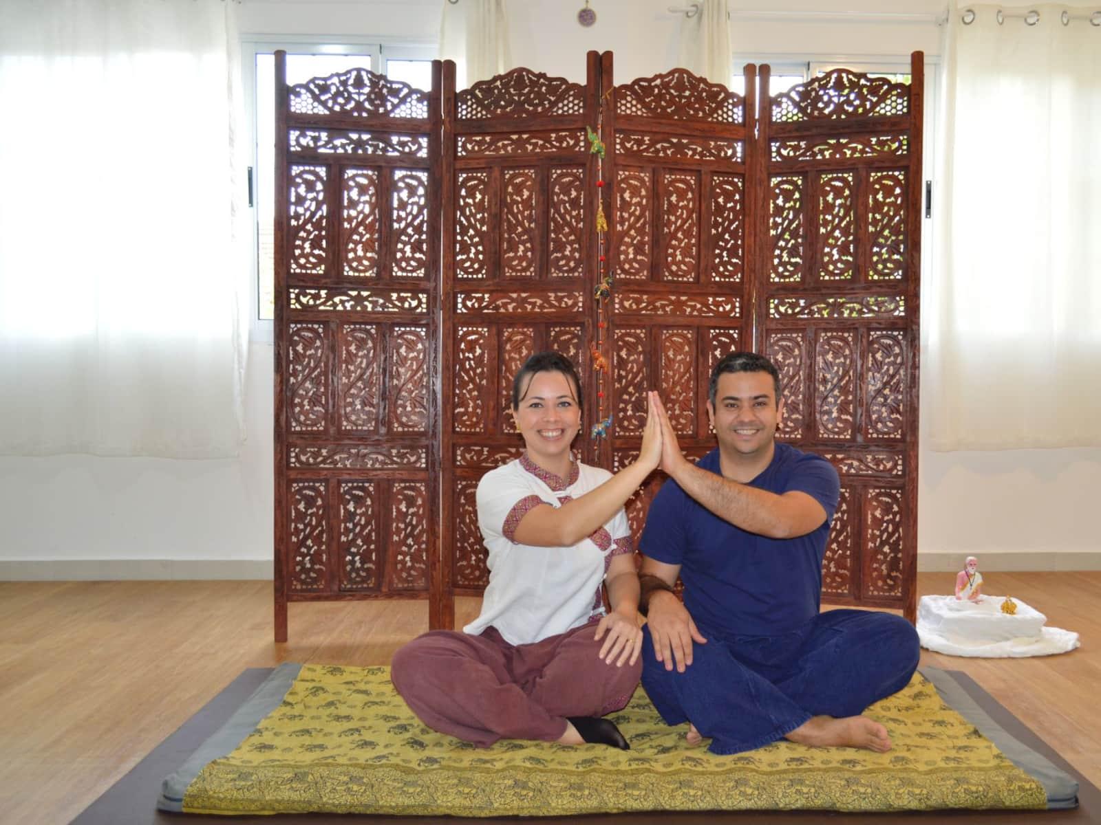 Nívia & Thiago from São Paulo, Brazil
