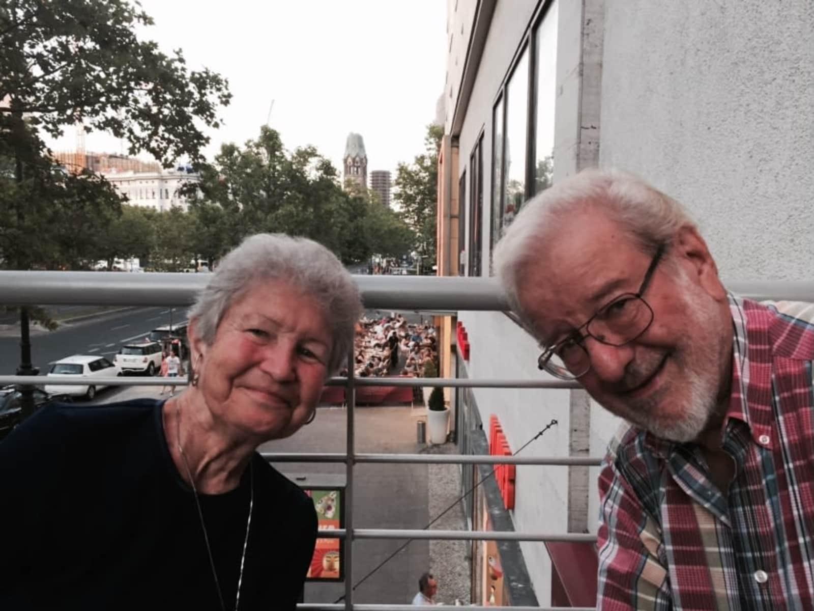 Norris d. & Elizabeth from Denton, Texas, United States