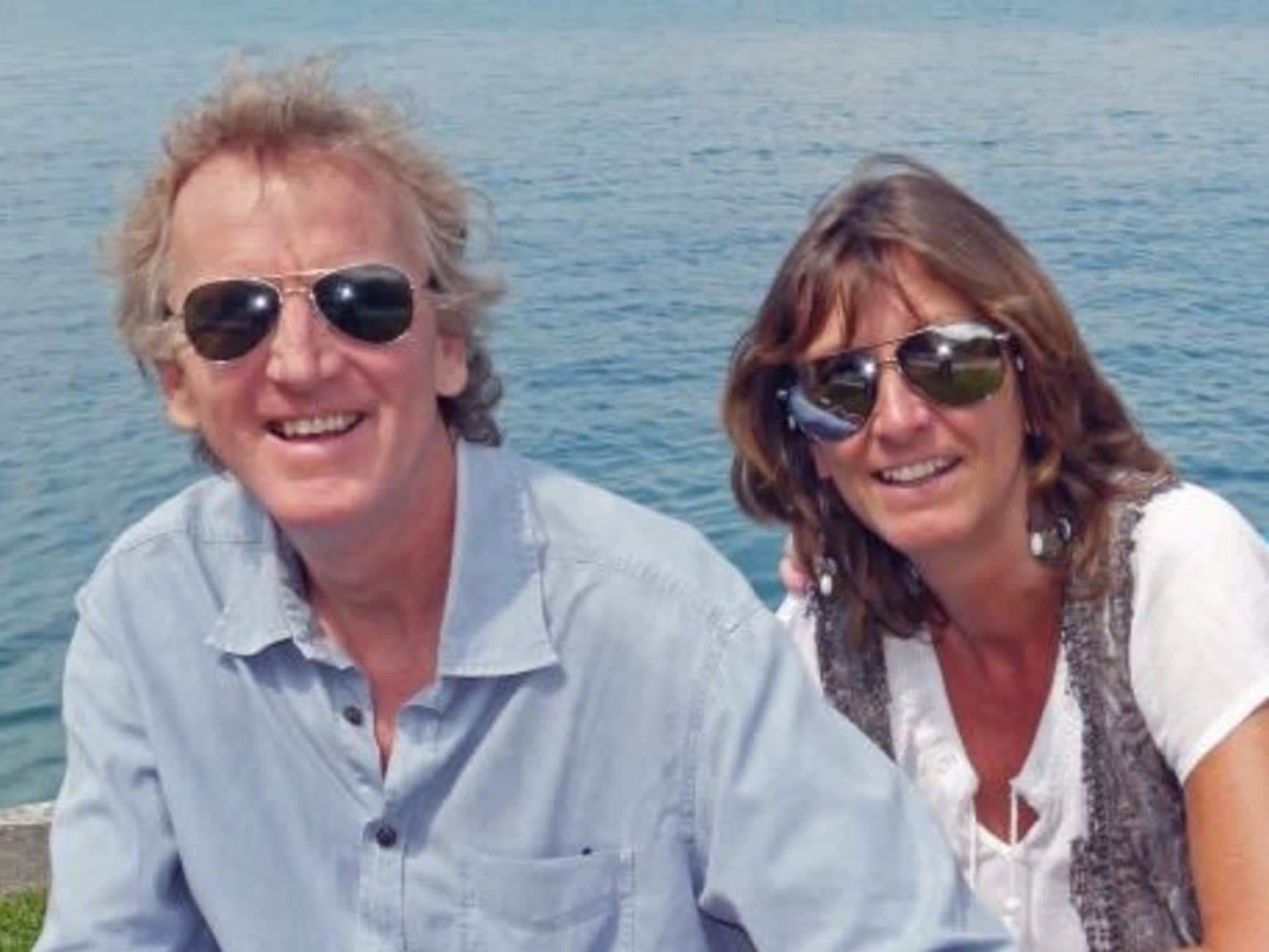 Graham & Lindsay from Budleigh Salterton, United Kingdom