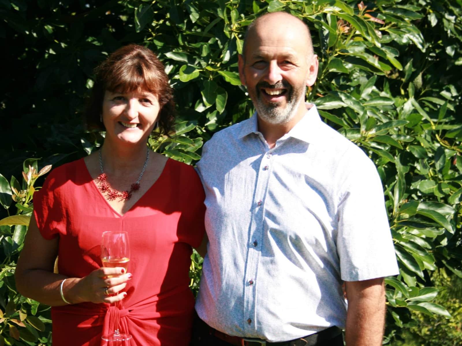 Liz & Rob from Tauranga, New Zealand