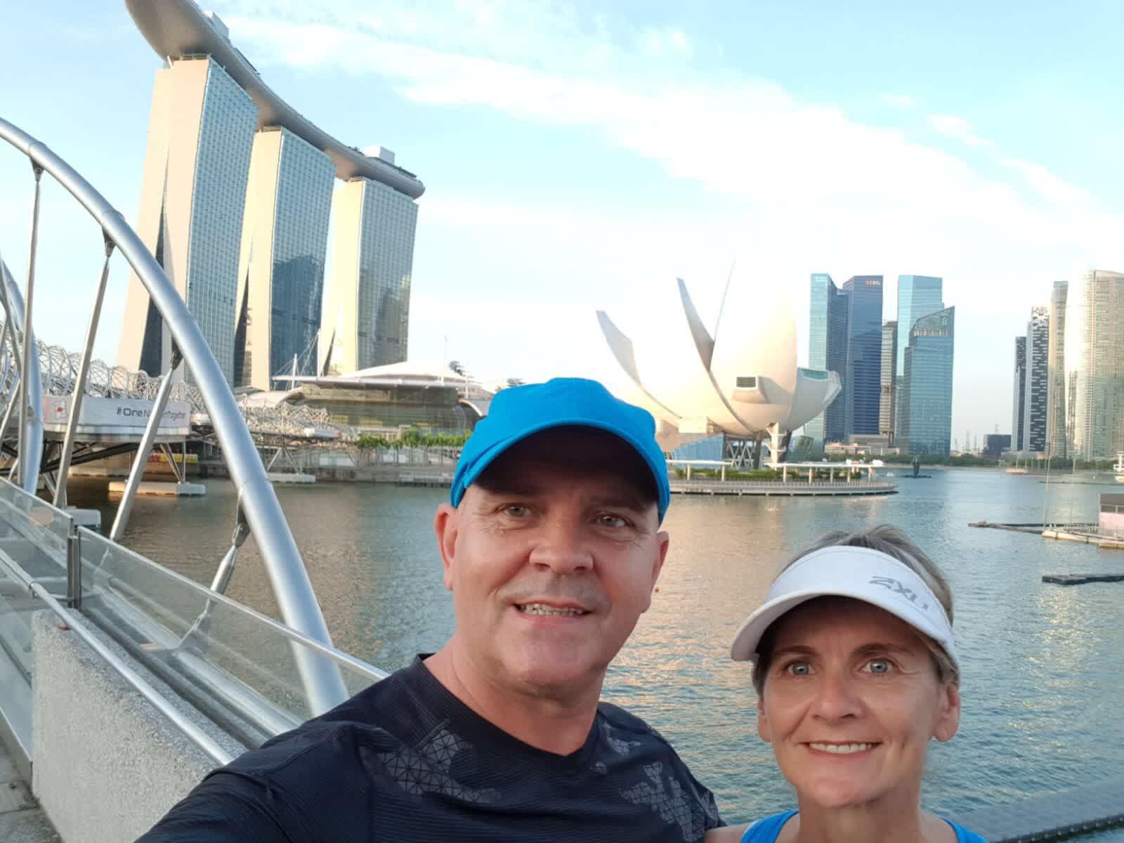 Heather & Steve from Singapore, Singapore