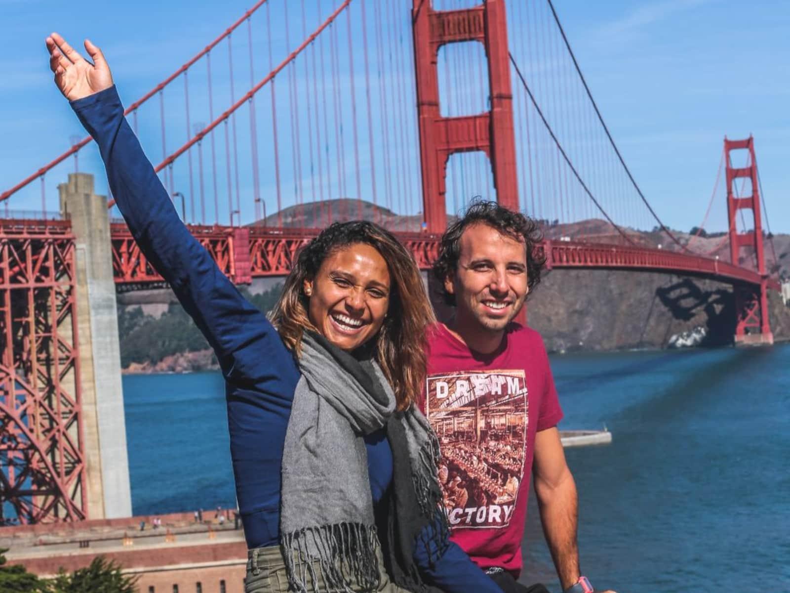 Bruna & Filipe from São Paulo, Brazil